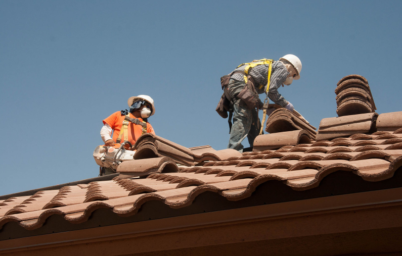 this is an image of chino hills roof pros team
