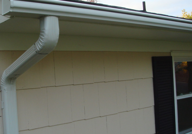 this is a picture of Chino Hills Gutter Installation
