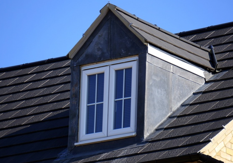 An image of finished roofing work in Chino Hill.