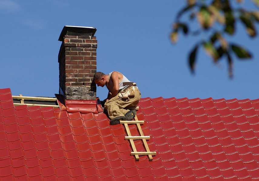 this image shows chino roofing experts